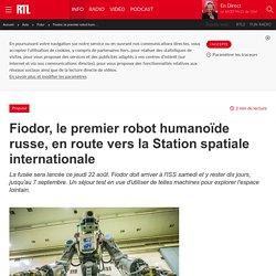 Fiodor, le premier robot humanoïde russe, en route vers la Station spatiale internationale