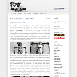 Humanoider Roboter A1: robolink Arme