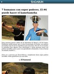 7 humanos con super poderes. El #6 puede hacer el kamehameha