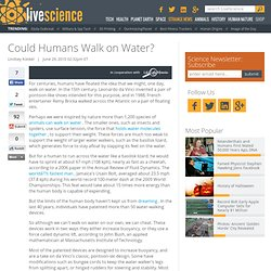 Could Humans Walk on Water? | Life's Little Mysteries
