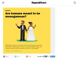 Are humans meant to be monogamous?—Hopes&Fears