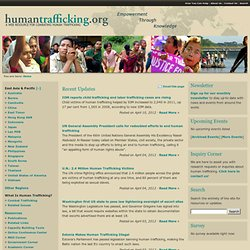 HumanTrafficking.org: A Web Resource for Combating Human Trafficking in the East Asia Pacific Region