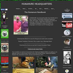 The Humanure Handbook - Center of the Humanure Universe
