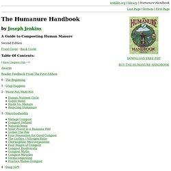 Humanure Handbook: Contents