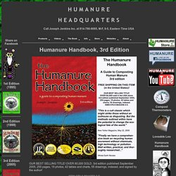The Humanure Handbook - Table of Contents