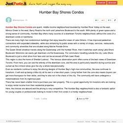 Humber Bay Shores Condos