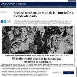 Socias Humbert, de mito de la Transición a alcalde olvidado
