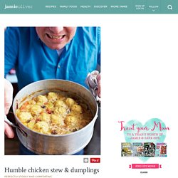 Humble chicken stew & dumplings
