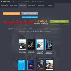 Humble Books Bundle: Learn Raspberry Pi and Arduino