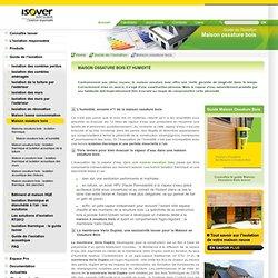 Humidité de la maison à ossature de bois (MOB)