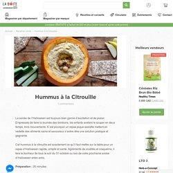 Hummus à la Citrouille
