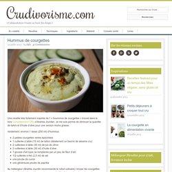 Hummus de courgettes