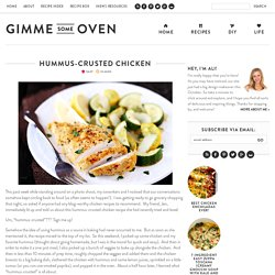 Hummus-Crusted Chicken