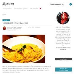 Hummus utan Tahini
