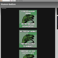 Humor-bation: Philosoraptor...