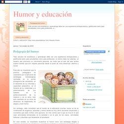 Humor y educación: Pedagogía del humor