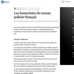 Les humoristes du roman policier français