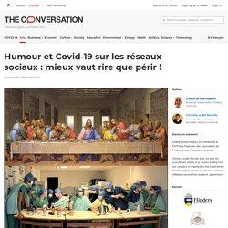 Humour et Covid-19 sur les réseaux sociaux : mieux vaut rire que périr !