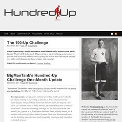Hundred Up | Re-Learning How to Run