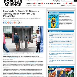 Hundreds Of Bluetooth Beacons Secretly Track New York City Passersby