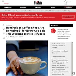 Hundreds of Coffee Shops Are Donating $1 for Every Cup Sold This Weekend to H...