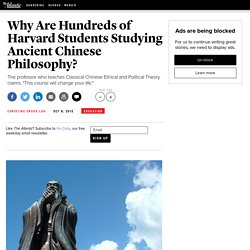 Why Are Hundreds of Harvard Students Studying Ancient Chinese Philosophy? - Christine Gross-Loh
