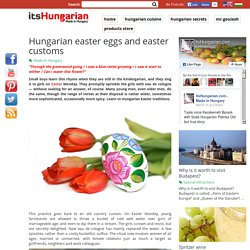 Hungarian Easter Traditions :)