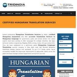 Why to Get Hungarian Translation in Canada for Best Results?