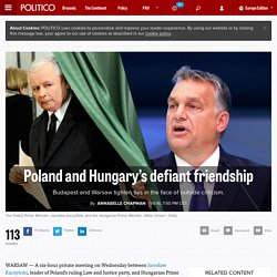 Poland and Hungary's defiant friendship