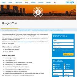 Hungary Visa Information - UAE - Musafir.com