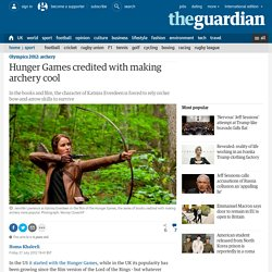Hunger Games credited with making archery cool
