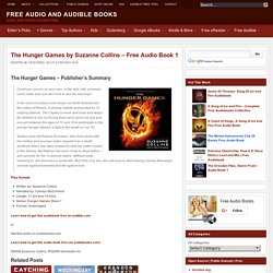 The Hunger Games by Suzanne Collins - Free Audio Book 1