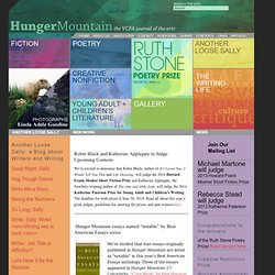 Hunger Mountain — VCFA Journal of the Arts
