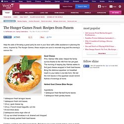 The Hunger Games Feast: Recipes from Panem