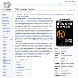 The hunger games wiki