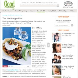 No Hunger Diet - Lost Weight Without Hunger