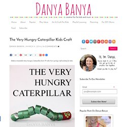 The Very Hungry Caterpillar Kids Craft