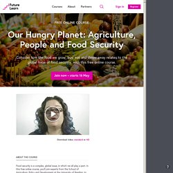Our Hungry Planet - University of Reading
