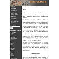 Huns - Histoire du Monde