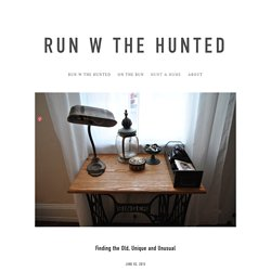 HUNT & HOME — RUN W THE HUNTED