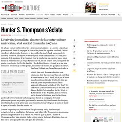 Hunter S. Thompson s'éclate