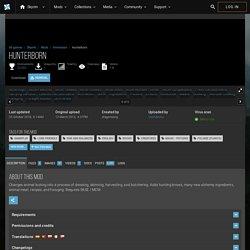 Hunterborn at Skyrim Nexus