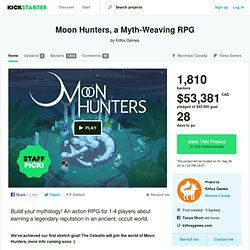 Moon Hunters, a Myth-Weaving RPG by Kitfox Games