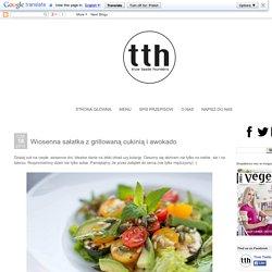 true taste hunters: Wiosenna sałatka z grillowaną cukinią i awokado