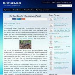 Hunting Tips for Thanksgiving Week - InfoMapp.com