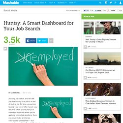 Huntsy: A Dashboard for Your Job Search