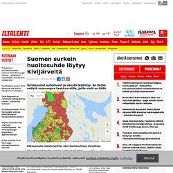 Suomen surkein huoltosuhde löytyy Kivijärveltä - katso oman kuntasi tilanne kartalta