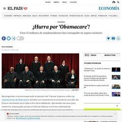 ¡Hurra por 'Obamacare'!