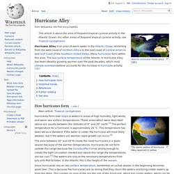 Hurricane Alley - Wikipedia