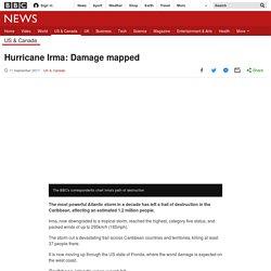 Hurricane Irma: Damage mapped